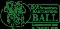 Etikette für den Bauernbundball-Wein 2018