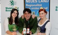 Etikette für den Bauernbundball-Wein 2015